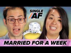 Single People Get Married For A Week • Single AF - YouTube ... I hear ya, Ash! I love my freedom too.