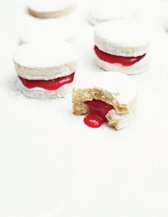 Vanilla cookies w/ cherry jam | What Katie Ate