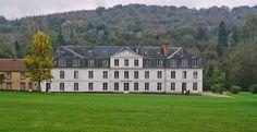 BEAUTES DE LA VALLEE DE CHEVREUSE.: Vallée de Chevreuse : le château de Mauvières, dem...