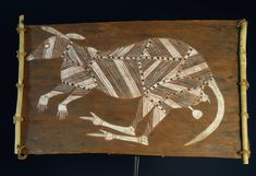 Aboriginal bark painting for sale by Anchor Wurrkidji Barrbuwa of a bandicoot. Bark painting for sale from Oenpelli Australia in X-Ray style Aboriginal Art Animals, Aboriginal Art For Kids, Aboriginal Painting, Paintings For Sale, Art Lessons, Anchor, Moose Art, Art Gallery, Objects