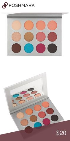 New! Never used! PUR eyeshadow palette Versatile, pigmented and transformative—from lightweight, warm matte shades of peach to a vibrant blue or shimmery pink, this eyeshadow palette is designed to help you achieve a fun look that's sure to make your eyes pop. Expect silky bendability and pure color intensity in 12 highly pigmented, blendable shades that can be worn alone or in any combination for endless eye looks. PUR Makeup Eyeshadow