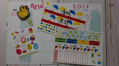 April Monthly Happy Planner Plan with Me 2017 Featuring Simplesouthernmommy