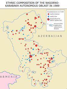 Ethnic Composition of the Nagorno-Karabakh Autonomous Oblast in 1989 -- Ethnic make-up of Nagorno-Karabakh in the late Soviet era.
