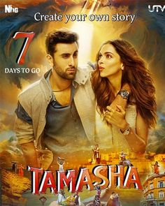 Tamasha (2015) Full Hindi Movie DVDRip 720p Free Download Worldfree4u