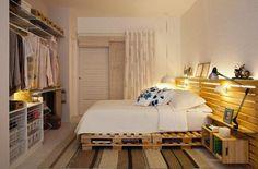 Rustic Pallet romantic bed