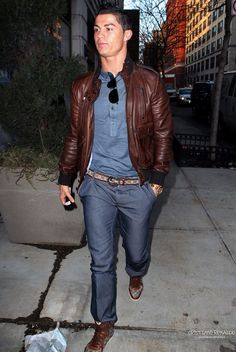 Christiano Ronaldo - One of the best dressed athletes in the world