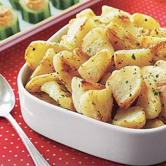English Roast Potatoes Recipe - English dishes are often described as being simple and straightforward, and this recipe for roasted potatoes is no exception.s the perfect side dish for roast beef or leg of lamb. Makes 8 servings. English Roast, English Food, English Dishes, English Recipes, British Recipes, Thanksgiving Side Dishes, Thanksgiving Recipes, Holiday Recipes, Holiday Meals