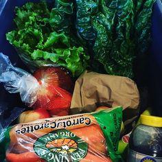 Monica in Lasalle beautiful large organic bin  #teamleeandmarias #fieldtofork #yqg #veggielove #locavores #farmers