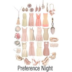 Love this cream & soft pink preference party dress idea!