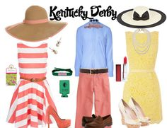 Hey ladies and gents, the Kentucky Derby is right around the corner. Since I am a self-proclaimed Yankee (I'm from South Florida), I thought I'd educate myself on the rules and etiquette which accompany the races. I thought they were interesting (and honestly, the outfits are so cute), that I figured I'd share them with you.