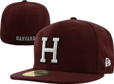 Harvard Crimson New Era 59FIFTY Basic Fitted Hat by New Era.  35.99.  Embroidered team 72c5fcb9f