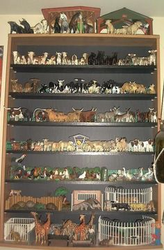 Cool way to display schleich models
