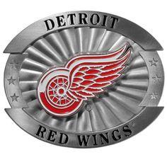 Detroit Red Wings® Oversized Belt Buckle OHB110