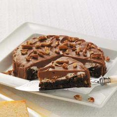 Mud Cake Recipe -This rich cake is ideal for special occasions. —Priscilla Prescott, Forest City, North Carolina