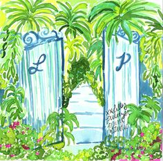 The hedges might be high but her door was always open. #lilly5x5 #LillySpillTheJuice