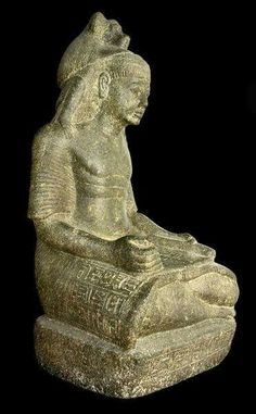 Statue of the High Priest Ramessesnakht.New Kingdom, 20th Dynasty c.a. 1189-1077 B.C. •Egyptian Museum,Cairo•