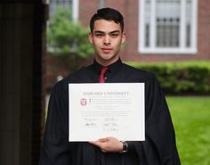 Man Shares What He Went Through To Graduate From Harvard And If This Won't Inspire You, Nothing Will