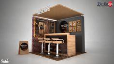 Nescafe Chilled Latte on Behance http://exponetusa.com/10x10-custom-exhibits/