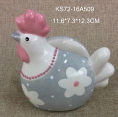 napkin holder rooster figurine