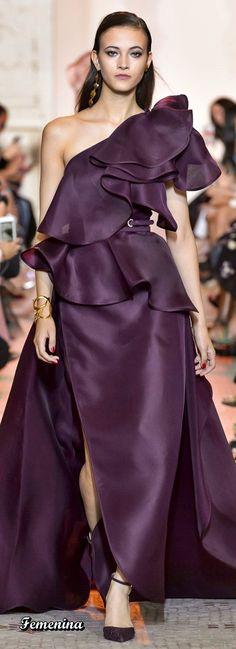 55 Ideas Dress With Sleeves Formal Elie Saab Dresses For Teens, Trendy Dresses, Nice Dresses, Fashion Dresses, Dresses With Sleeves, Club Dresses, Dresses Online, Elie Saab Couture, Purple Fashion