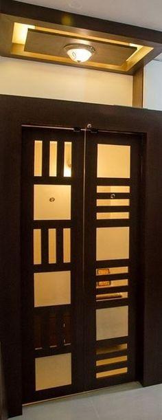 Pooja Room Door Designs