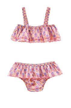 Girls Bekasi Ruffled Two Piece Swimsuit | Louise Misha