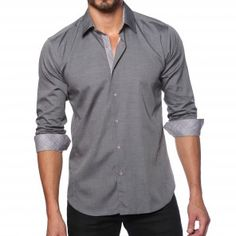 Jared Lang, Dress Shirt style # AVE9W161 | TEMPTBRANDS