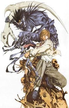 Death. Light. Shinigami