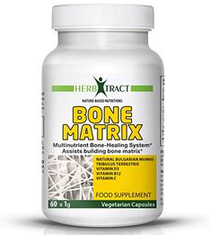 Osteoporosis Supplement Best for Bone Health - Natural Mumio Rich in Calcium Magnesium and Fulvic Acid - Vitamin D3 Enriched - Bone Matrix Creation Formula - Stop the Bone Pain Now!