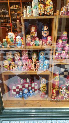 Babushka shop Royal Arcade
