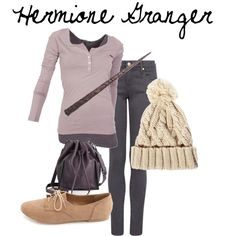 Harry Potter and the Wardrobe Department: Hermione Granger Fashion.  ~ jak-jojo on Polyvore ~