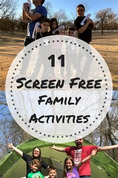 11 Family Activities That Don't Involve Screen Time - Activities for kids -