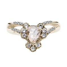 Reconsider the pear-shaped diamond.