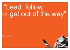 Lead....