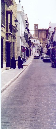 Stree in Osuna -Seville - Andalusia - Spain
