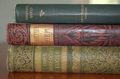Famous Author Book Collection Edwardian by CobblestonesVintage, $26.00