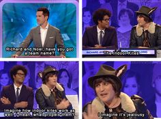 Big Fat Quiz of the Year: I imagine it's jealousy.