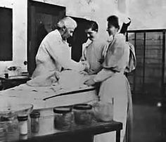 Victorian nurses Edinburgh with Dr. Bell 1890