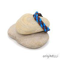 paracord armband blue Paracord Armband, Handmade Bracelets, Braid, Beads, Handarbeit