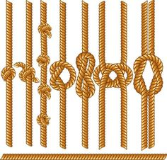 Buy Rope Borders by PILart on GraphicRiver. Cord or Rope Borders with Various Knots. Set of Vector Design Elements Pack Includes versions: – . Rope Tattoo, Funny Cartoon Characters, Rope Knots, Fishing Knots, Fishing Tips, Desenho Tattoo, Borders And Frames, Sisal, Vector Design
