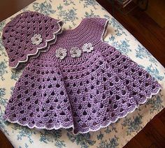 Bumble Bee Dress & Hat - Free Pattern