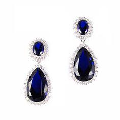 #ciro #pearl #bridal #cz #BurlingtonArcade #blue #silver