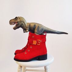 T Rex has some big #giuseppezanotti shoes to fill - @refinery29- #webstagram