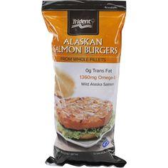 trident seafoods salmon burgers gluten free  Costco ~ @ $14.89
