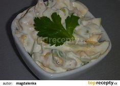 Vaječný salát s řapíkatým celerem recept - TopRecepty.cz