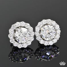Earring Jackets for Diamond Studs See more amazing jewelry at RadiantRings.net! #jewelry