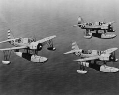 Vought-OS2U-Kingfisher-WWII-Aircraft-8x10-Silver-Halide-Photo-Print