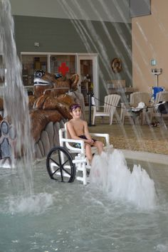 Aquatic Wheelchair, Aqua Creek Products.  >>> See it. Believe it. Do it. Watch thousands of spinal cord injury videos at SPINALpedia.com