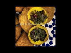 كبة السبانخ . كبة نباتية. - YouTube Muffin, Breakfast, Healthy, Food, Bulgur, Morning Coffee, Essen, Muffins, Meals