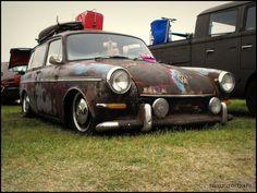 Squareback Vw Rat Rod, Rat Rods, Vw Variant, Volkswagen Type 3, Vw Classic, Time In The World, Vw Cars, Vw Beetles, Station Wagon
